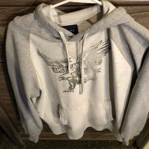 American Eagle hoodie pull over